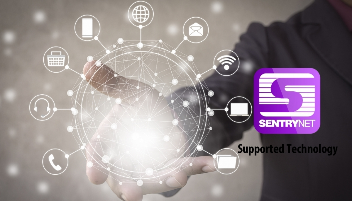 SentryNet Supported Technologies